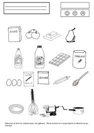 exercice recette de cuisine gâteau au yaourt et aux pommes chez camille