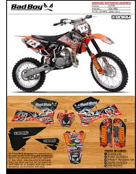 motocross bikes on ebay badboy motocross graphics ktm sx 85 2006 2011 dirt bike graphics