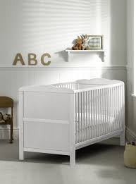white cot bed ebay