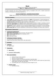format for professional resume professional curriculum vitae sle template of a fresher