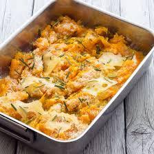 cuisine potimarron recette gratin de potimarron aux châtaignes