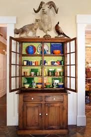 dazzling curio cabinet decoration ideas for family room eclectic