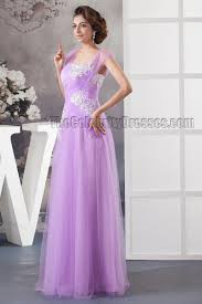 lilac dresses for weddings floor length lilac tulle embroidered prom evening dresses