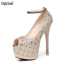Wedding Shoes Luxury Dhigirls Women U0027s Platform Wedding Shoes Luxury Thin High Heels