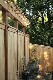 Fencing Ideas For Backyards by Best 25 Yard Fencing Ideas Only On Pinterest Front Yard Fence
