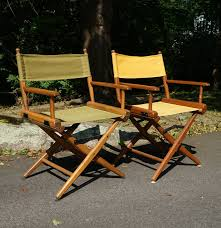 vintage 1960s director u0027s chairs by telescope furniture ebth