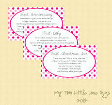 Gift Card Bridal Shower Baby Shower Poem Gift Wblqual Com