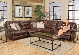 Leather Sofa And Loveseat Recliner by Kane U0027s Furniture Sectionals