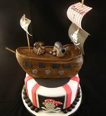 Pirate Cake Decorations Pirate Ship U0026 Cupcakes Unforgettable Edibles