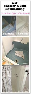 diy shower and tub refinishing i painted my 1970 s shower