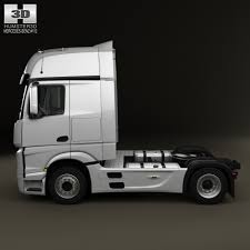 mercedes truck 2013 mercedes actros 1851 tractor truck 2013 by humster3d 3docean