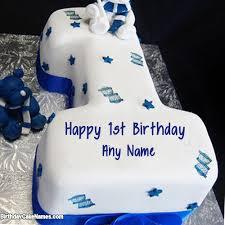 happy 1st birthday cake