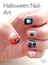 from pumpkins and ghosts halloween nails 2014 tried it out