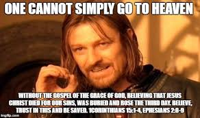 Gospel Memes - one does not simply meme imgflip