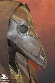 plague doctor mask plague doctor mask brown larp inn healer