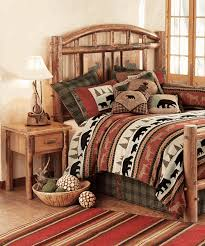 Cabin Bedroom Furniture Rustic Bedroom Furniture Log Rustic Beds