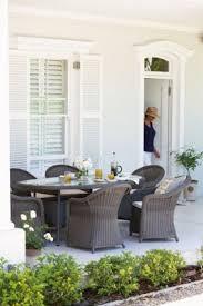 Homebase Chairs Dining Milazzo 6 Seater Garden Furniture Set Homebase Garden