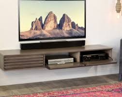 Wall Mounted Entertainment Shelves Wall Mounted Tv Stand Entertainment Console Mayan Espresso