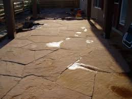 Flagstone Patio Installation Bristlecone Landscapes A Full Landscape Install With A Raised