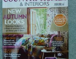 country homes and interiors magazine lavender cottage in country homes and interiors magazine