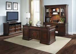 Home Office Executive Desk Home Office Executive Desk And Credenza Sets