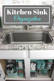 the kitchen sink cabinet organization how to organize the kitchen sink at home with
