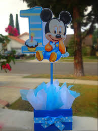 mickey mouse center pieces baby mickey mouse centerpiece party favor mickey party