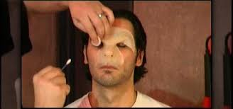 werewolf makeup tutorial male how to apply a wolfman werewolf prosthetic props sfx wonderhowto