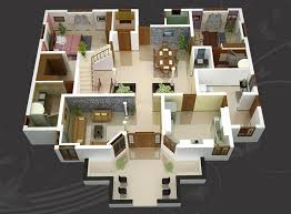 home plan ideas modern 3d isometric views of small house plans kerala home design
