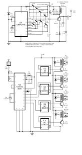 radio remote control rc using dtmf circuit diagram