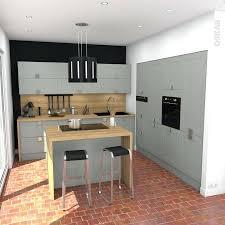cuisine bois gris clair cuisine bois gris moderne un mobilier de integre 5114354