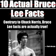 Bruce Lee Meme - 10 actual bruce lee facts by unhealthy meme center