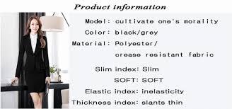 Spa Front Desk Job Description Suit Office Uniform Designs Women Skirt Suit Woman Work Suit For