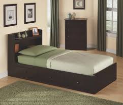 bed u0026 bedding exciting twin size bed with headboard bookshelves