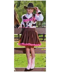 Cowgirl Halloween Costume Child Cowgirl Cutie Kids Costume Girls Cowgirl Costumes