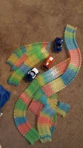 light up car track as seen on tv light up car track as seen on tv with 3 cars games toys in