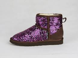 womens boots purple s sparkles mini purple boots