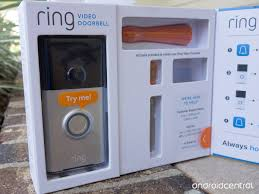 ring review part 1 setting up a 199 connected doorbell android