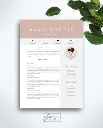 ms resume templates resume template 3 page cv template cover letter instant resume template 3 page cv template cover by fortunelleresumes