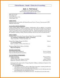 Resume Objective Statements Samples 5 Accounting Resume Objective Statement Examples Cashier
