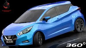nissan micra 2017 nissan micra 2017 interior 3d model turbosquid 1158698