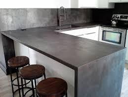 recouvrir un comptoir de cuisine enduit deco montréal