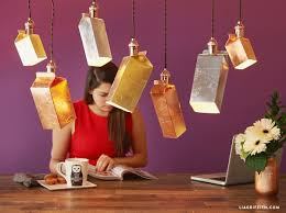 Home Decor From Recycled Materials Recycled Carton Chandelier Choosecartons
