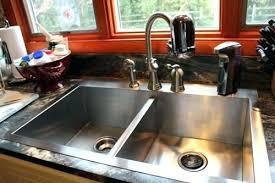 drop in farmhouse sink kohler drop in farmhouse sink stainless steel apron front sink vault