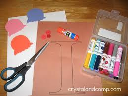 letter i preschool crafts preschooler development