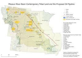 Standing Rock Reservation Map The Way Of Water Two Maps That Describe Water Security Threats