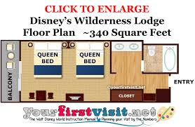 disney world floor plans theming and accommodations at disney s wilderness lodge