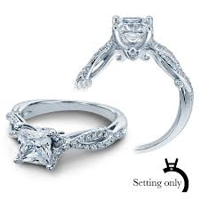 engagement ring setting insignia diamond engagement ring setting 7050