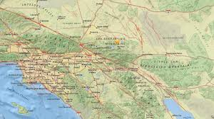 Los Angeles Area Map by 3 0 Magnitude Earthquake Rattles Big Bear Area Abc7 Com