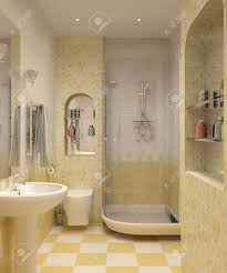 yellow tile bathroom home design inspiration ideas and pictures